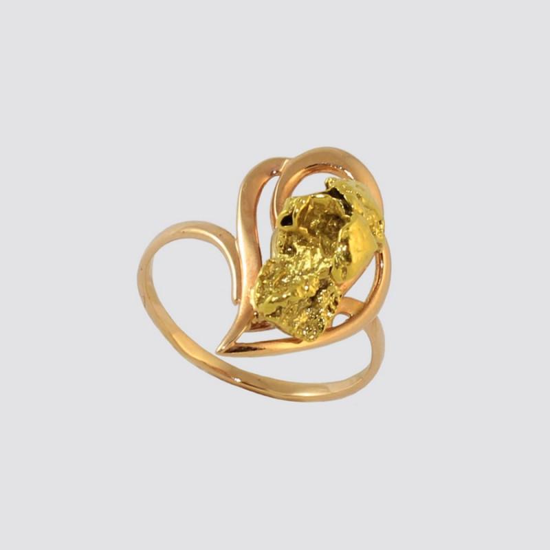 Купить Кольцо с самородком
